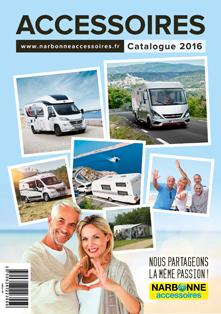 Couverture Catalogue Accessoires 2016